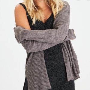 American Eagle Outfitters Sweaters - AEO Soft & Sexy Plush Waffle Knit Cardigan